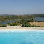 Swimming with a view in Portugal!