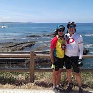 Enjoying our ride through Portugal !