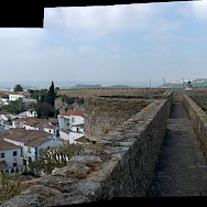 Looking out from the complex of Alcobaca Monastery in Portugal. Flickr:Syvwlch
