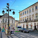 Don't miss the old time charm of Praca do Giraldo in Évora, Alentejo, Portugal. Wikimedia Commons:Lacobrigo