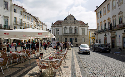Giraldo Square in Evora, Portugal. Flickr:Patrick Nouhailler