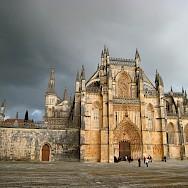 Batalha Monastery is a grand one. Flickr:eu-