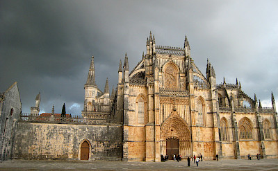 Batalha Monastery is a grand one. Flickr:eu-