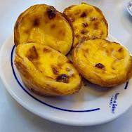 Pastéis de Belém are a local Portuguese favorite! Flickr:Dave Collier