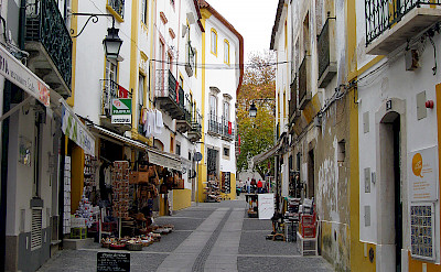 Ready for early shopping in Evora, Portugal. Flickr:Jason