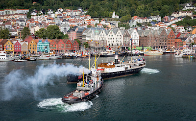Fjordsteam 2018 in Bergen, Norway. Creative Commons:Tore Saetre
