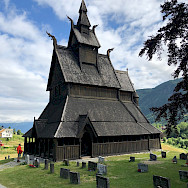 Fancy church in Hoppestad, Norway. Photo via TO.