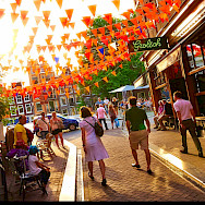 Summertime in Amsterdam, North Holland, the Netherlands. Photo via Flickr:Moyan Brenn