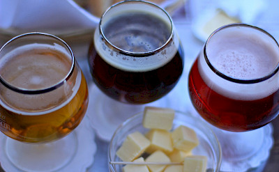 Beer and cheese tasting in Bruges, Belgium. Photo via Flickr:Michela Simoncini
