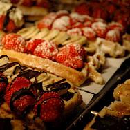 Belgian waffles make great biking fuel! Photo via Flickr:Jason Rogers