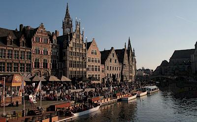 Riverside in Ghent, East Flanders, Belgium. Photo via Flickr:Olivier Bacquet