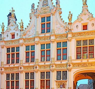 Wondrous architecture in Bruges, Belgium. Flickr:Dennis Jarvis
