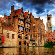 Canals and canal tours are great in Bruges, Belgium. Flickr:Wolfgang Staudt