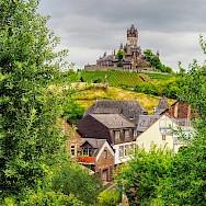 Vast vineyards surrounding Cochem, Bavaria, Germany. Flickr:jodage