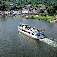 Ferrying along the Mosel River in Cochem, Germany. Flickr:Jim Linwood