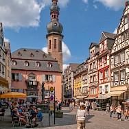 From bike to sightseeing in Cochem, Rhineland-Palatinate, Germany. Flickr:Frans Berkelaar