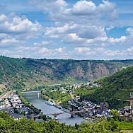Vista of the Mosel River through Cochem, Rhineland-Palatinate, Germany. Flickr:Frans Berkelaar