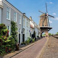 Windmill in Wijk bij Duurstede in province Utrecht, the Netherlands. Flickr:Frans Berkelaar