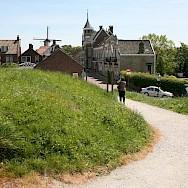 Biking through Willemstad in North Brabant, the Netherlands. Flickr:Bert Knottenbeld