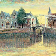 Painting by Hubertine Heijermans of old Zierikzee in the Netherlands. Not much has changed. CC0