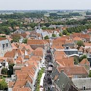 View from Belfry in Zierikzee, the Netherlands. Flickr:Jose Maria Barerra Cabanas