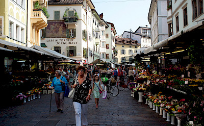 Bike rest in Bolzano in South Tyrol, Italy. Flickr:Aleksandr Zykov