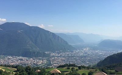 Overlooking Bolzano, South Tyrol, Italy. Wikimedia Commons:Georgij Michaliutin