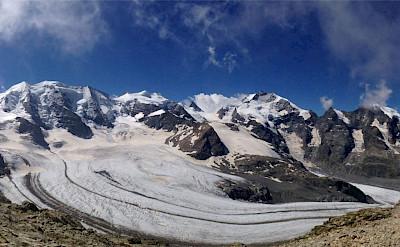Diavolezza glacier in Switzerland. Flickr:Francesco Volpi