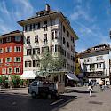 Kornplatz in Bolzano, Italy. Wikimedia Commons:tuxyso