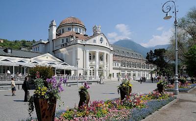 Kurhaus in Merano, South Tyrol, Italy. Wikimedia Commons:bohringer friedrich