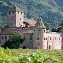 Maretsch Castle in Bolzano, Italy. Wikimedia Commons:Vollmond11