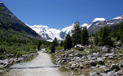 Morteratsch Glacier in Canton Graubunden, Switzerland. Flickr:Patrick Nouhailler