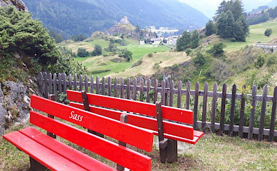 Bike rest in Switzerland. Photo via TO