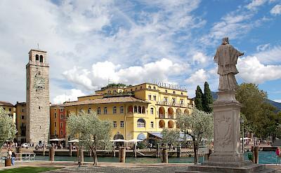 Hotel Sole in Riva del Garda along beautiful Lake Garda in Italy. Flickr:pixel teufel