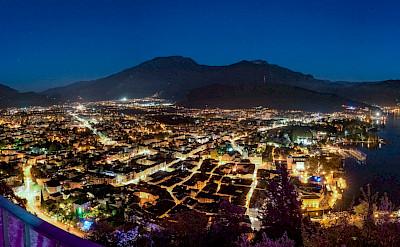 Nighttime in Riva del Garda, Italy. Flickr:wermei