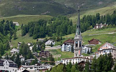 Great view of Saint Moritz in Switzerland. Flickr:Miranda Wood