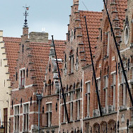 Another great view of the gorgeous gables in Bruges, Belgium. Flickr:emersonpardo
