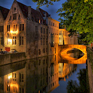 Canals are everywhere in Bruges, Belgium. Flickr:Scott Liddell