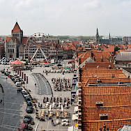 <i>La Grand Place</i> in Tournai, Belgium. Tournai is one of Belgium's oldest cities. Wikimedia Commons:stephane martin