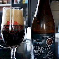 """Tournay Noire"", the famous local Tournai beer, which comes in numerous flavors. Tournai, Belgium Flickr:miguel discart"