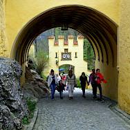Walking the gates towards Neuschwanstein Castle, Schwangau, Germany. Flickr:Mike Steele