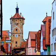 Rothenburg ob der Tauber is indeed a romantic town. Bavaria, Germany. Flickr:Moyan Brenn