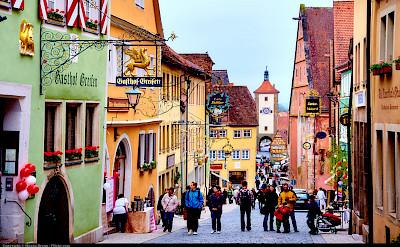 Shopping in rothenburg ob der Tauber, Germany. Flickr:Moyan Brenn
