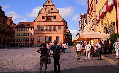 Overnight in Rothenburg ob der Tauber, Germany. Flickr:Ben Ramirez