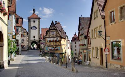 Rothenburg ob der Tauber, Germany. CC:Berthold Werner