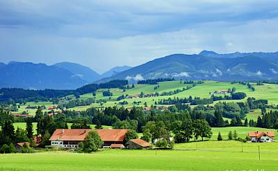 Region of Wildsteig in Upper Bavaria, Germany. Flickr:Renate Dodell