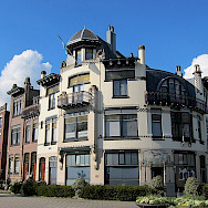 More great architecture in Arnhem, Gelderland, the Netherlands. Wikimedia Commons:Henk Monster CC-BY-3.0