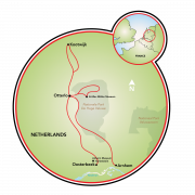 Rural Holland - Gelderland & De Hoge Veluwe Park Map