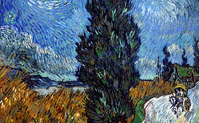 One of van Gogh's painting (of Provence) at the Kröller-Müller Museum in Otterlo, the Netherlands. CC0
