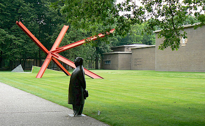 Entrance to the Kröller-Müller Museum in Otterlo, Gelderland, the Netherlands. CC0